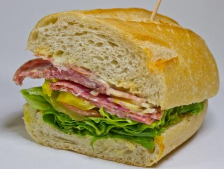 The Santana Row Sandwich
