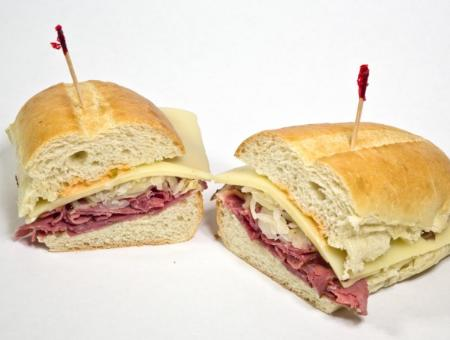 The Tap Tempo Reuben Sandwich